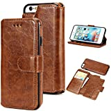 Best Cases For Men Iphone 5s - UEEBAI Case For iPhone 5 5S SE,Premium Folio Review
