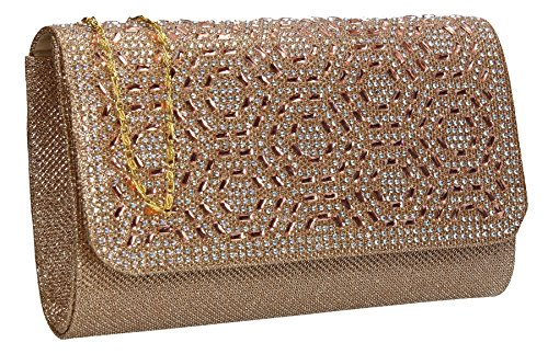 One Size SwankySwans Gold Clutch Damen vqa6Eg