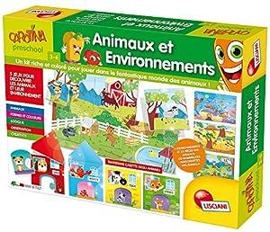 Lisciani-Juegos Educatifs-fr57603-Carotina Animales y environnements