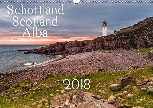 Schottland - Scotland - Alba (Wandkalender 2018 DIN A3 quer): 13 brillante Bilder zeigen Schottlands faszinierende Landschaft auf beeindruckende Weise. (Monatskalender, 14 Seiten ) (CALVENDO Orte) -