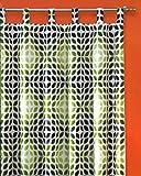 Gardine Retro Schlaufenschal BLICKDICHT HxB 260x140 cm Kürzbar - 60er Sixties - 70er Seventies - schwere Qualität schöner Fall - Vintage Vorhang ...auspacken, aufhängen, fertig! Typ250