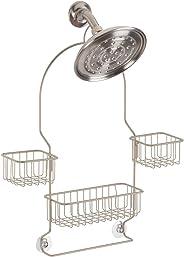 iDesign Metalo Swing Shower Caddy, Satin, 28055ES