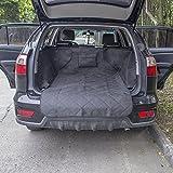 Anself Decdeal Auto Kofferraum Hundedecke Autoschondecke mit Seitenschutz 132x99x43cm