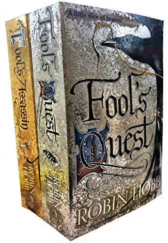 Robin Hobb - Fitz and the Fool - 2 Books Collection Set