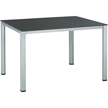 Amazon De Kettler Tisch Kettalux Plus Silber Anthrazit 160 X 95 X