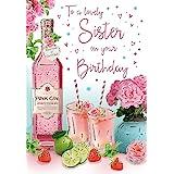 Tarjeta de cumpleaños para hermana – 9 x 6 pulgadas – Regal Publishing, C80452