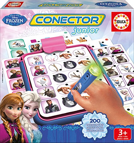 Frozen - Conector Junior, juego educativo (Educa Borrás)