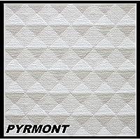 10 m2 Piastre-polistirene Lastre Soffitto Stucco Copertura Decorazione Pannelli 50x50cm, PYRMONT