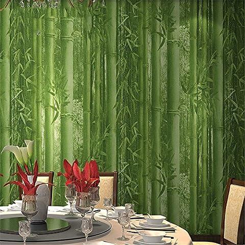 Papiers peintsFond d'écran de fond de bambou restaurant fond d'écran hôtel fond d'écran d'entrée étude papier peint en bambou vert