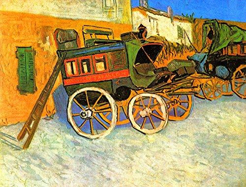Das Museum Outlet-The Coach Of Tarascon by Van Gogh-Poster Print Online kaufen (76,2x 101,6cm)