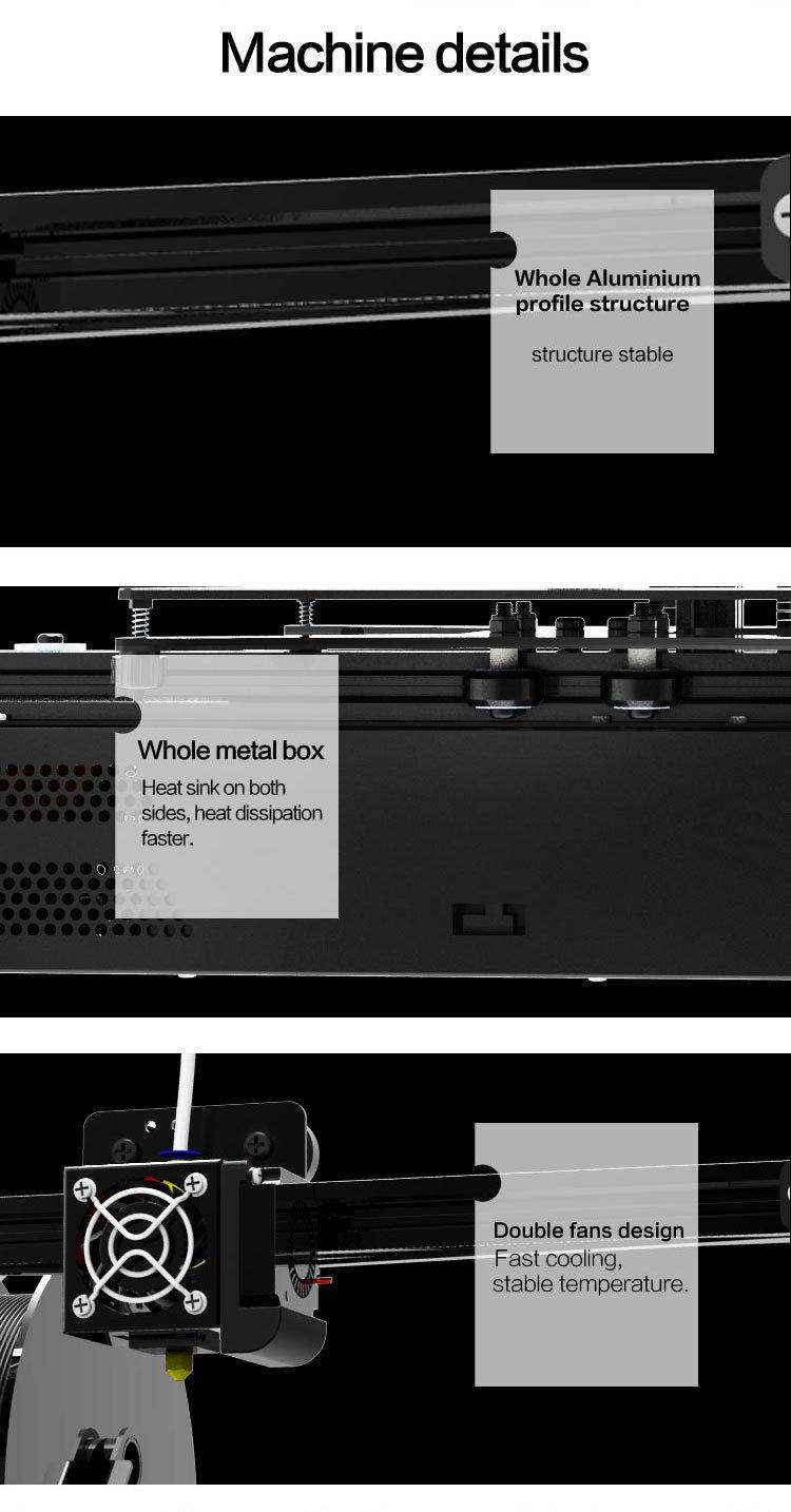 Prusa i3 MK3 - Metal LCD HD