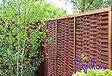 Papillon Sichtschutzelement aus Weidenmatte, 140cm x 180cm