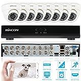 Best Sistemas de alarma - KKmoon Kit de Seguridad 16CH DVR/HVR/NVR Full 960H/D1 Review