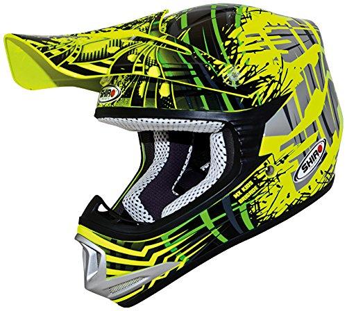 para Hombre Mujer SHOH Carretera Moto Casco Adulto Motocross Casco Mascarilla Adulto Motocross Casco 352425cm Gafas S, M, L, XL 4pcs Juego De Casco De Moto Guantes De Motocicleta