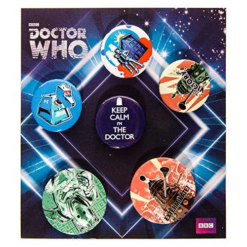 Dr-Who-Retro-Badge-Set