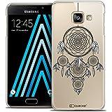 Caseink - Coque Housse Etui Samsung Galaxy A3 2016 (A310) [Crystal Motif HD Collection Dreamy Design Attrape Rêves NB - Rigide - Ultra Fin - Imprimé en France]