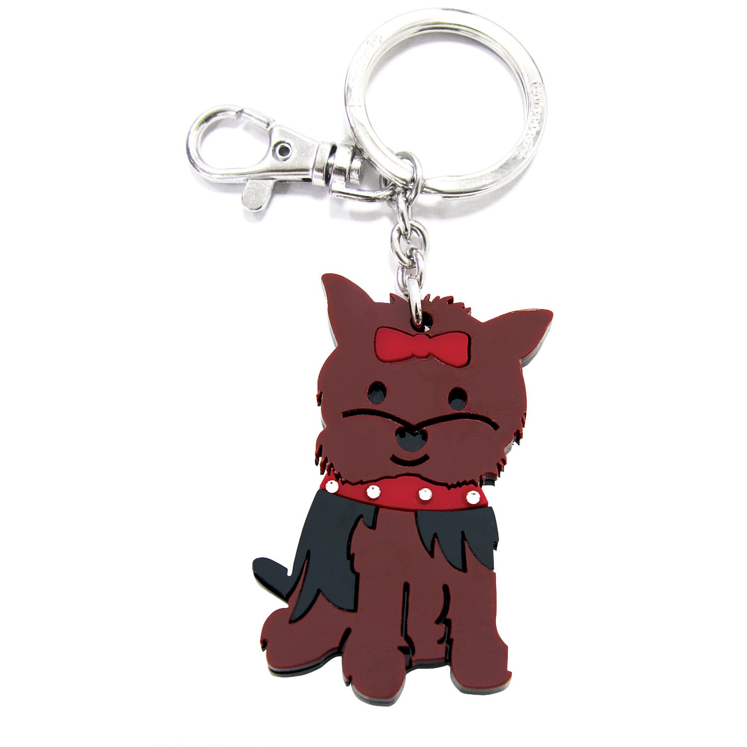 FouFou Dog Keychain Yorkshire Terrier