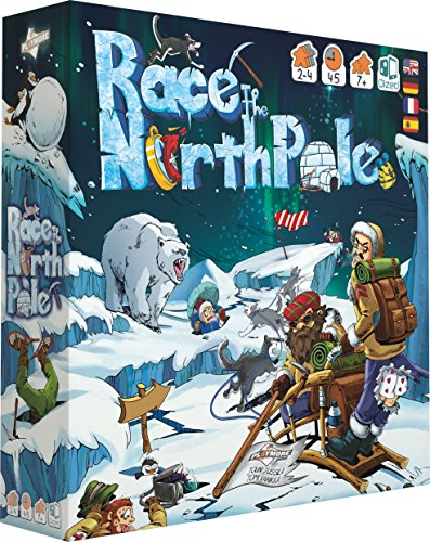 Playmore Games-play8002-Race to The North Pole-Juego de Bandeja