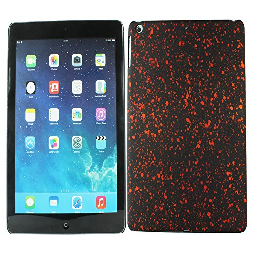 Heartly Night Sky Glitter Star 3D Printed Design Retro Color Armor Hard Bumper Back Case Cover For Apple iPad Air Tablet (iPad 5) - Vintage Orange  available at amazon for Rs.109