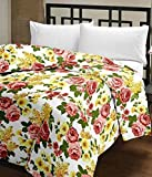 SVT Floral Print Reversible Poly Cotton ...