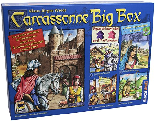 Giochi Uniti - Carcassonne Gioco Strategico, Big Box
