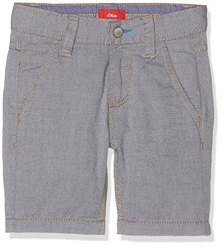 Check Bermuda Shorts (s.Oliver Jungen Shorts Bermuda Blau (Dark Blue Check 58N5), 128 (Herstellergröße: 128/REG))