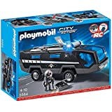 Playmobil -5564 - Jeu De Construction - Véhicule D'intervention Police