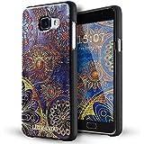 Galaxy A5 2016 Coque,Lizimandu 3D Motif Tpu Silicone Gel Étui Housse Protection Shell Cover Case Pour Samsung Galaxy A5 2016(Fleur Bleue/Blue Flower)