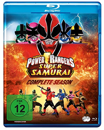 Power Rangers - Super Samurai - Die komplette Serie [Blu-ray]