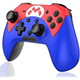 Wireless Controller for Nintendo Switch/Switch Lite, Rechargeable Remote Switch Controller with Gyro Axis/Dual Vibration/Adju