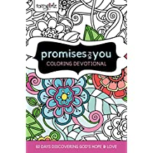 Faithgirlz Promises for You Coloring Devotional: 60 Days Discovering God\'s Hope and Love