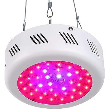Roleadro LED Grow Lampe 138W UFO Pflanzenleuchte Wachstum Led Grow ...