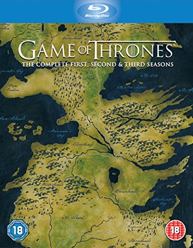 Game Of Thrones: The Complete First, Second & Third Seasons [Edizione: Regno Unito] [Reino Unido] [Blu-ray]