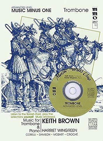 Advanced Trombone Solos - Volume 3 (Music Minus One, Advanced Level)