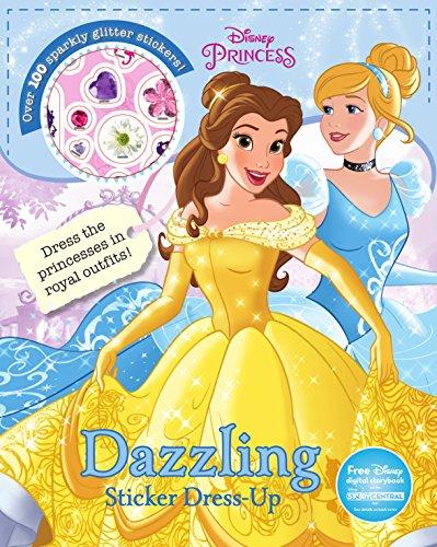 Dazzling Sticker Dress-Up (Disney Princess)