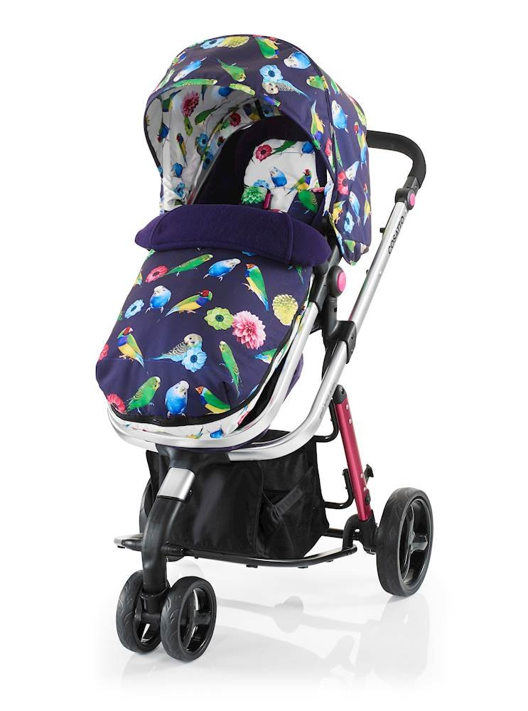 Cosatto Woop Pushchair, Suitable from Birth to 15 kg, Eden Cosatto  2