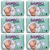 Bambo Nature Windeln für Neugeborene Größe 1(2–4kg, 4–4,1kg)–6x Packungen von 28(168Windeln)