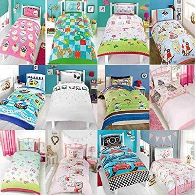 Kids Duvet Covers, Children's Bedding, Girls Bedroom, Boys Bedroom, Teens Bedroom, Single Bed, Quilt Sets - cheap UK light shop.