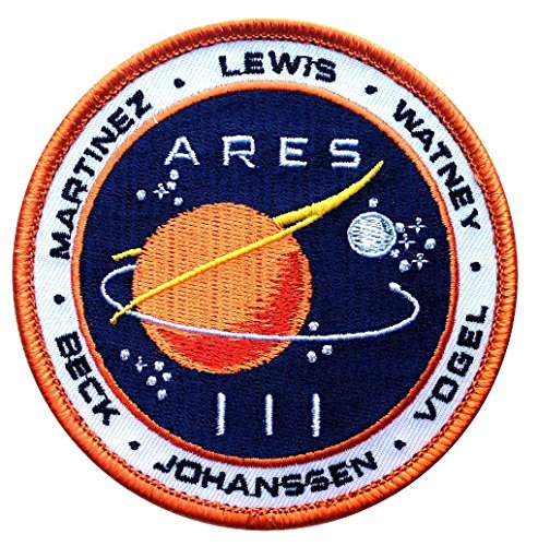 Martian Movie Space Exploration Unknown Universe Endurance Crew Uniform Aufnaher Patch (Uniform Sky)