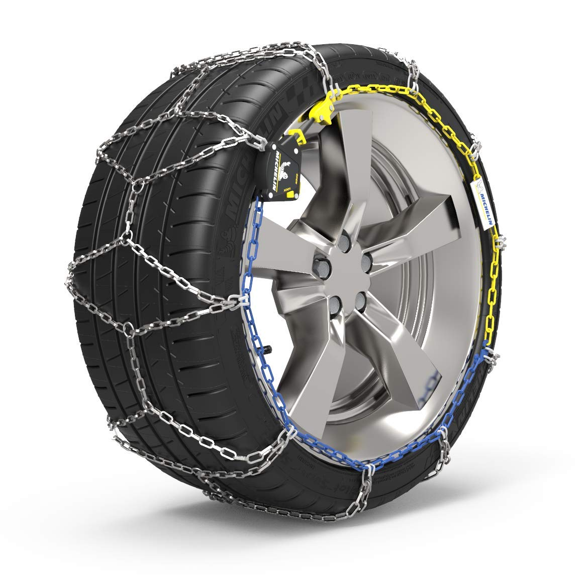 MICHELIN Chaines à neige Extrem Grip, Tension Automatique