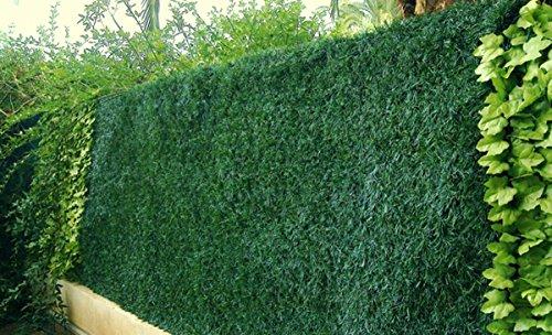 PEGANE Haie Artificielle/Brise Vue Maillage Losange en PVC Coloris Vert Thuyas, 1,50 m x 3 m
