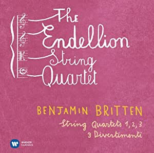 Britten : String Quartets 1-3, Divertimenti 1-3