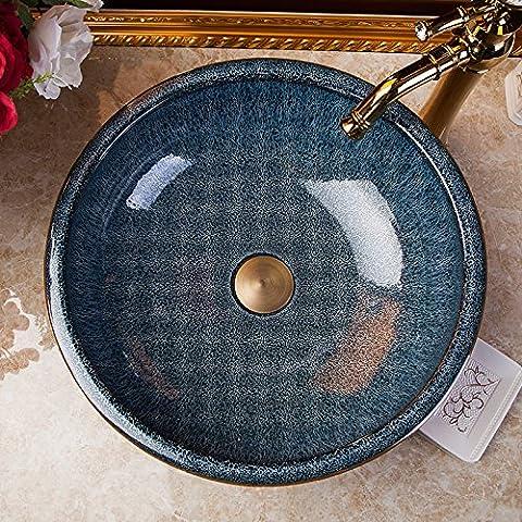 Vaso bagno lavandino arte Lavabo,l'Arte Ceramica Lavabi Hotel Il lavandino del bagno specchi vanity scolpiti colori smalti bacino Tavola