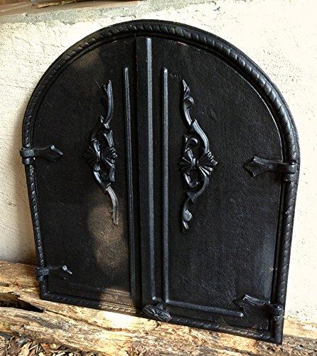 Antikas - puerta horno de piedra - puerta de hierro fundido para...