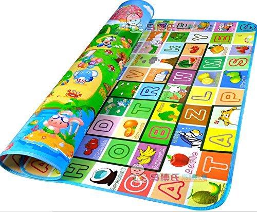 StillCool Bebé Crawl Mat Niños Playmat Niño Que Juega Alfombra Picnic Blanke (200*180CM)