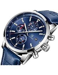 Reloj de Cuarzo Original para Hombre, único Reloj Deportivo para Hombres, Reloj de Pulsera