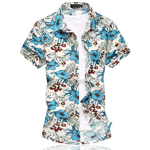 mens-hawaiian-floral-short-sleeve-shirts-mens-swimming-holiday-tops
