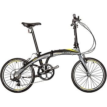 RYMEBIKES Bicicleta Plegable 20 URBAN - SHIMANO 7 velocidades, Aluminio