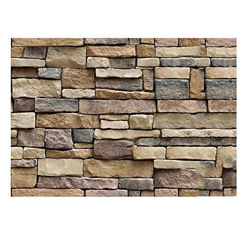 Eternitry adesivi murali 3d parete autoadesiva sfondo simulazione vena pietra di roccia decorazione fai da te piastrelle in vinile carta da parati per la casa soggiorno camera da letto