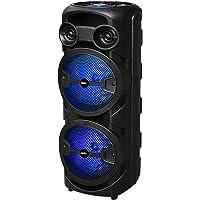 Haut-parleur Bluetooth BSL-S60 avec éclairage RVB, 2 haut-parleurs de 8 pouces, 2 x 15 W RMS, batterie de 4 heures d…